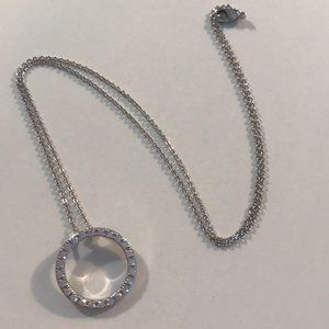 Macy's new Cubic Zirconia Circle of Life Necklace